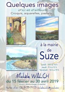 Exposition Michèle WALCH à Suze @ Mairie | Suze | Auvergne-Rhône-Alpes | France